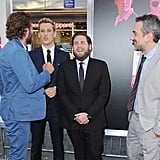 Bradley Cooper and Jonah Hill at War Dogs NYC Premiere