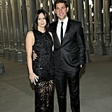 Emily Blunt and husband John Krasinski at the LACMA bash.