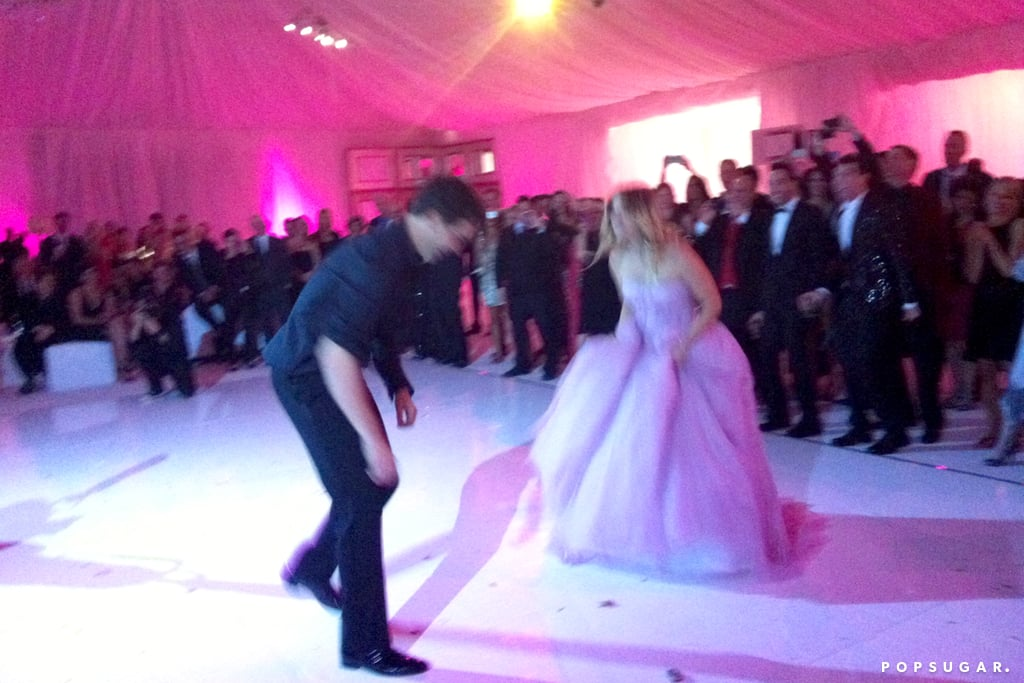 Ryan Sweeting And Kaley Cuoco Busted Some Moves To Celebrate Their Marriage  And Ring In 2014