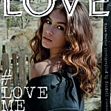 For Love Magazine's #LoveMe17, Kaia Once Again Graced the Cover