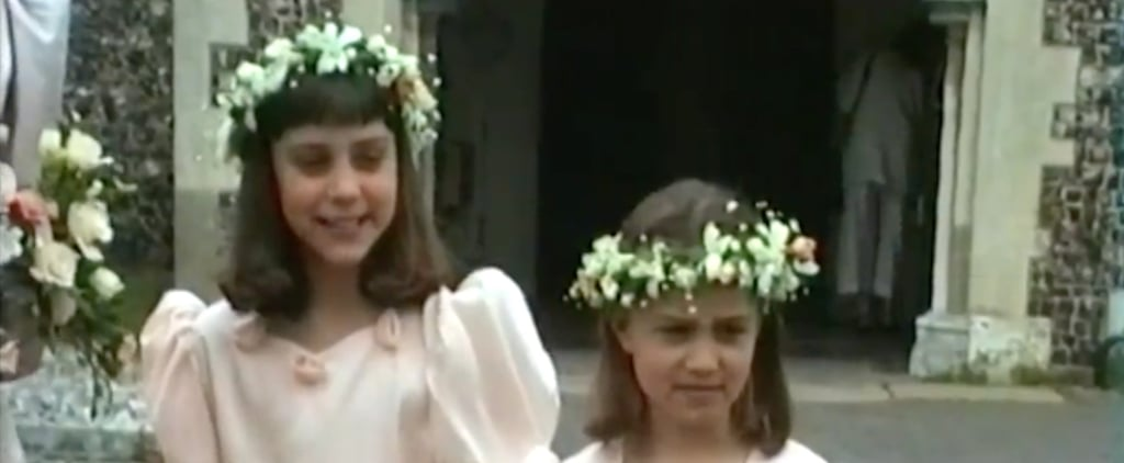 Drop Everything and Watch This '90s Video of Kate & Pippa Middleton as Bridesmaids