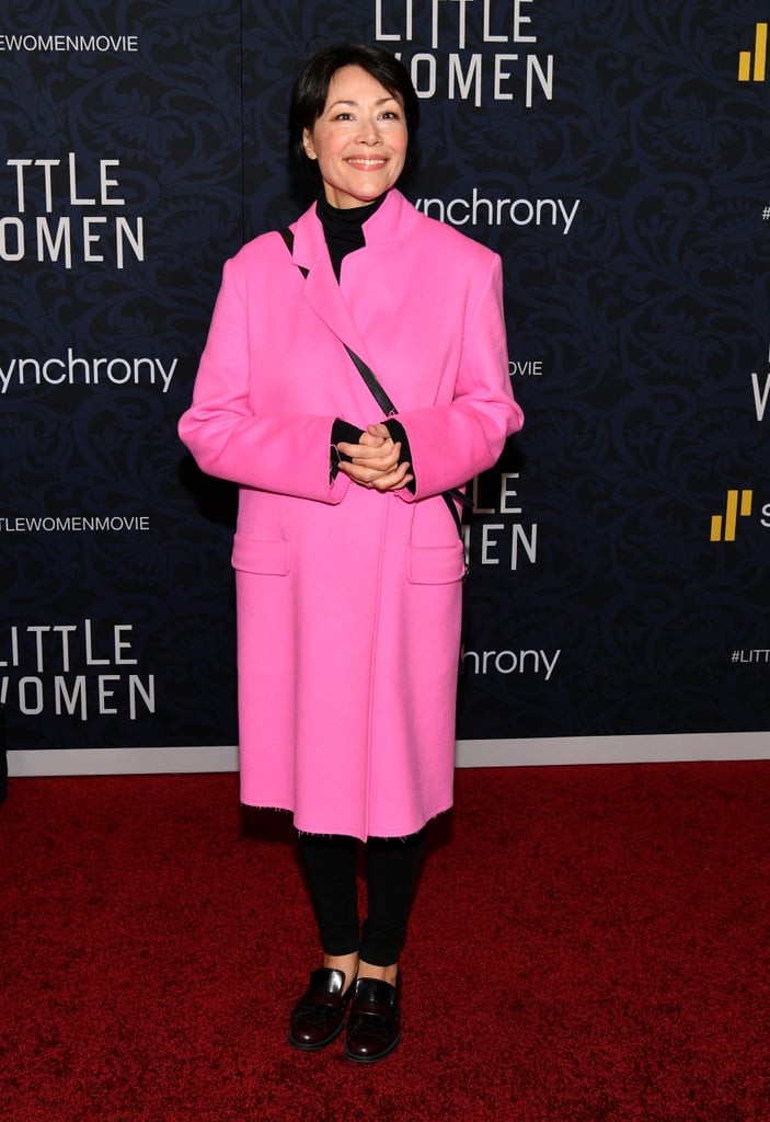 Pictured: Ann Curry at the Little Women world premiere.
