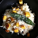 Butternut Squash Risotto With Fried Sage