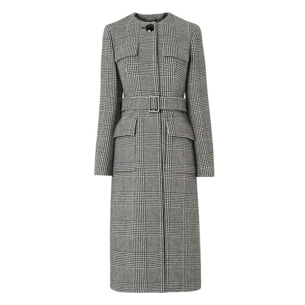 L.K. Bennett Check Coat