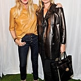 Emma Hill and Kate Moss