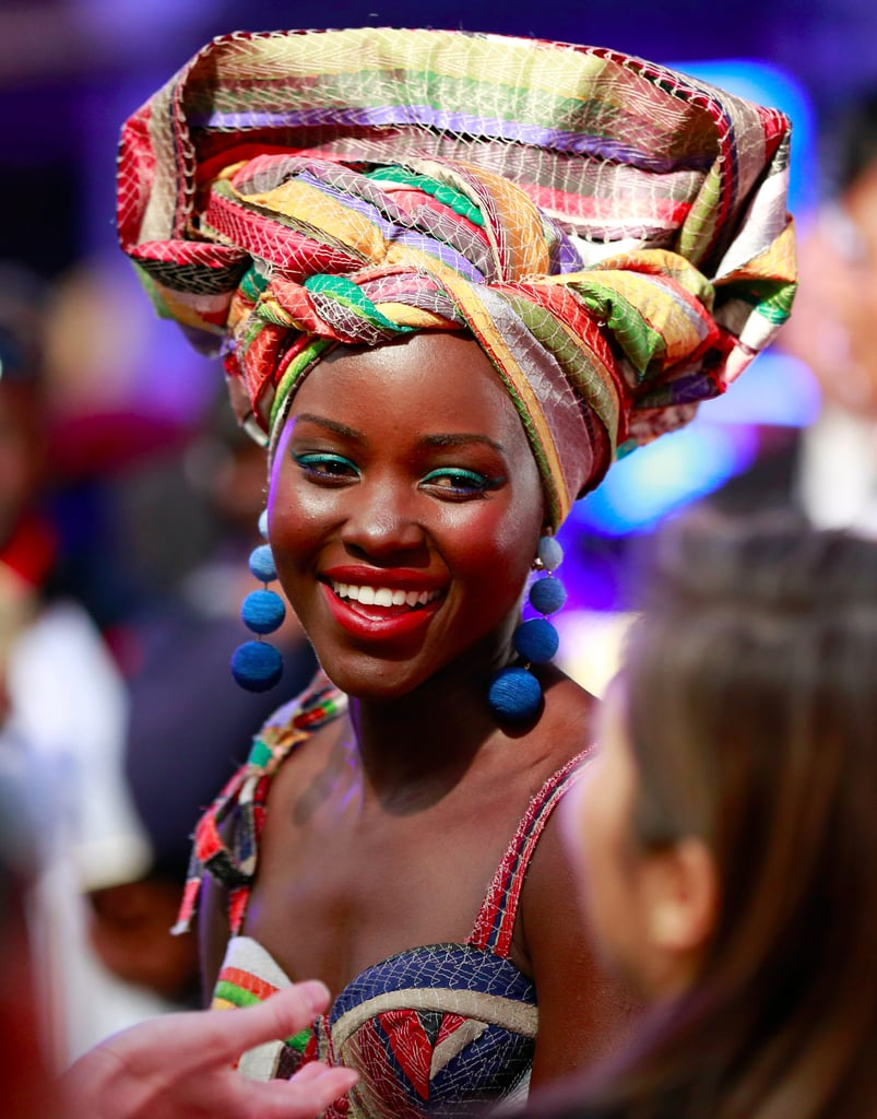 Lupita Nyong'o's Queen of Katwe Red Carpet Looks