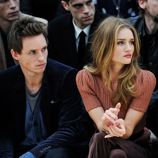 Eddie Redmayne and Rosie Huntington-Whiteley