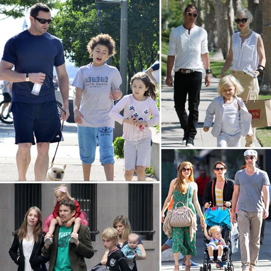 See How Stars Spent Father's Day