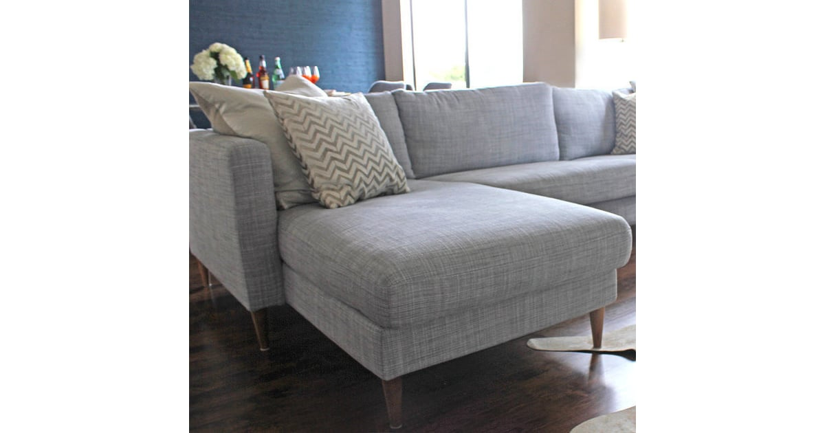 Switch Out Legs How To Make An Old Sofa Look New
