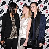 Zoe Saldana, Kate Bosworth, and Allison Williams all chatted together.