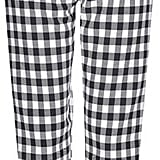 Topshop Gingham Mensy Trousers