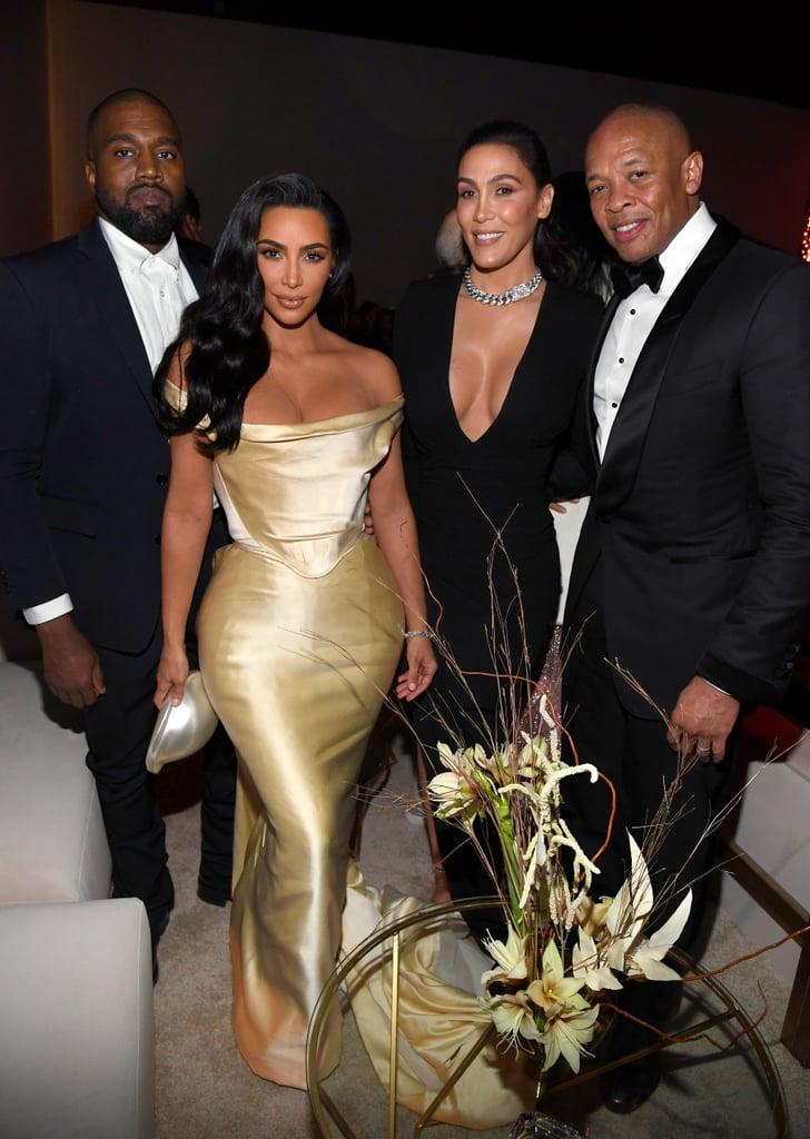 Kim Kardashian Wore a Vintage Wedding Dress to Diddy's 50th
