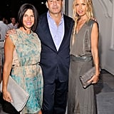 Jessica Seinfeld, Reed Krakoff, and Rachel Zoe in East Hampton.