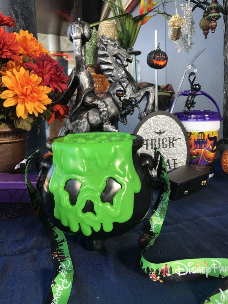 Disneyland Halloween Popcorn Bucket 2018.Disneyland S Cauldron Popcorn Bucket Disneyland Halloween