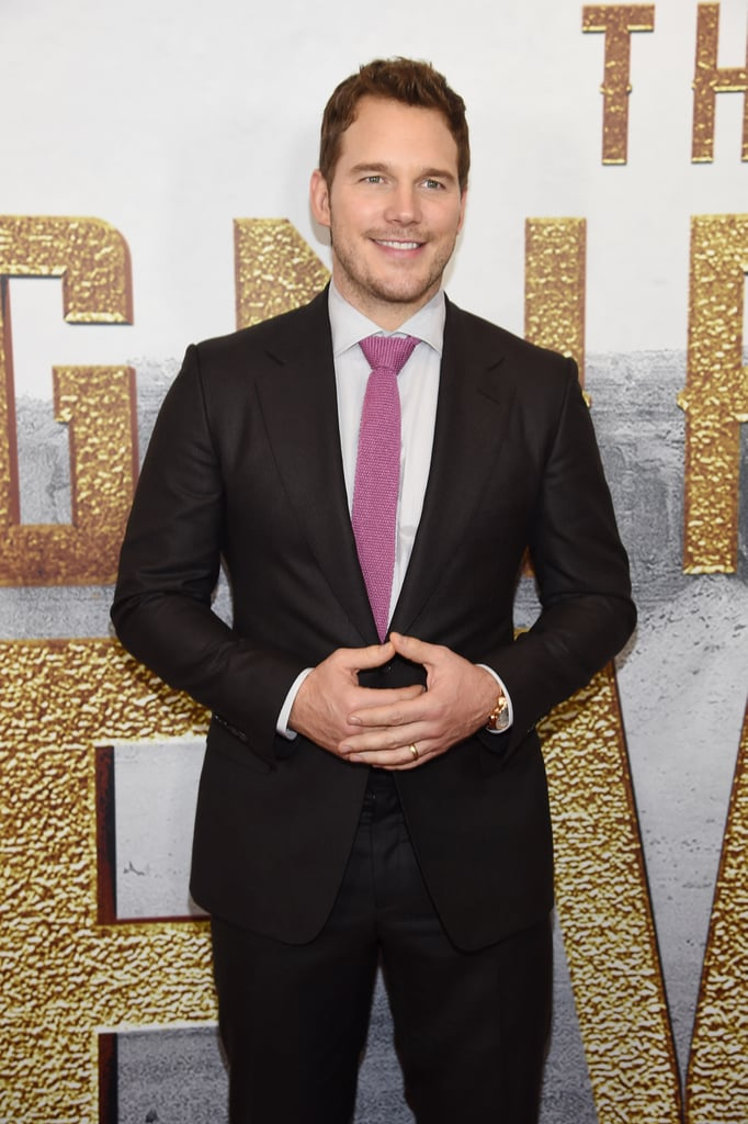 Chris Pratt stepped out for the NYC premiere of his latest film, The Magnificent Seven, on Monday night. The actor, who recently returned from Italy, was his usual charming self as he made his way down the red carpet and posed for pictures with his castmates, including Denzel Washington and Ethan Hawke. In the action-packed movie, which is a remake of the 1960s film, Denzel and Chris star as gunslingers who are seeking vengeance against a villainous Peter Sarsgaard. During the movie's premiere at the Toronto Film Festival last week, we got a glimpse of Chris and Denzel's budding bromance when they cracked each other up on the red carpet. The Magnificent Seven isn't out until Sept. 23, but here's to hoping we see more of Chris before then.        Related:                                                                17 Signs You're Obsessed With Chris Pratt                                                                   Shirtless Chris Pratt Is Truly a Gift to Us All                                                                   18 Chris Pratt Smirks That Will Probably Leave You Breathless