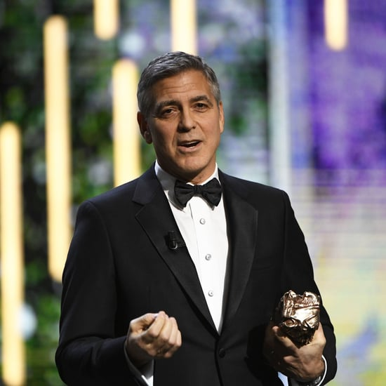 George Clooney Talks About Trump in Cesar Awards Speech 2017