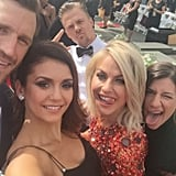 When Nina Basically Became an Honorary Member of the Hough Family With This Epic Selfie