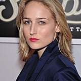 Leelee Sobieski wore bright lips to The Shops at Target launch party in NYC.