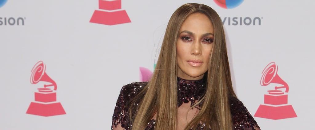 Jennifer Lopez's Naked Jumpsuit at Latin Grammy Awards 2016