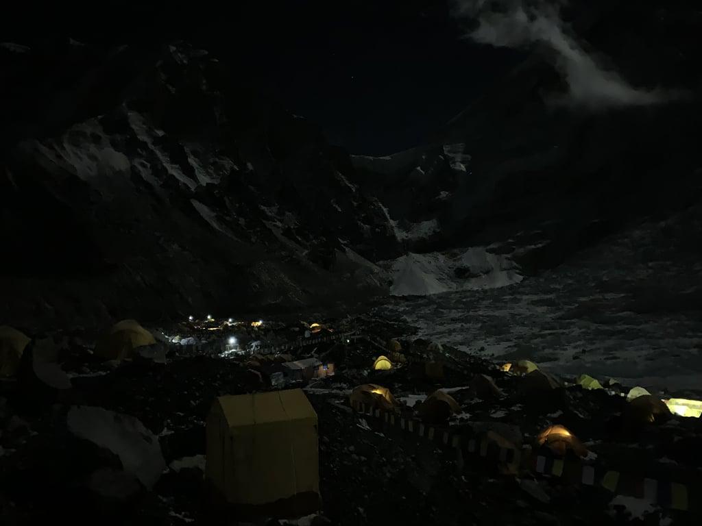 Base Camp Is Huge