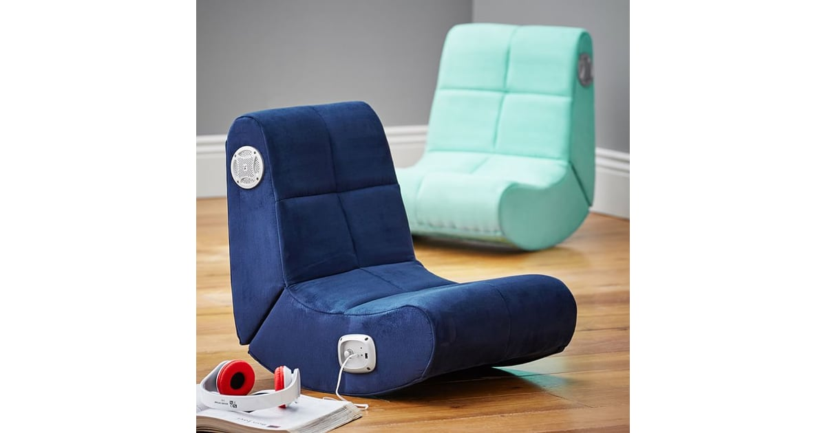 Suede Mini Rocker Speaker Chair The Best Gifts For Teens