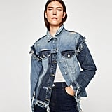 Zara The Vintage Denim Jacket