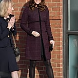 Kate Middleton at the Magic Mums Christmas Party 2017
