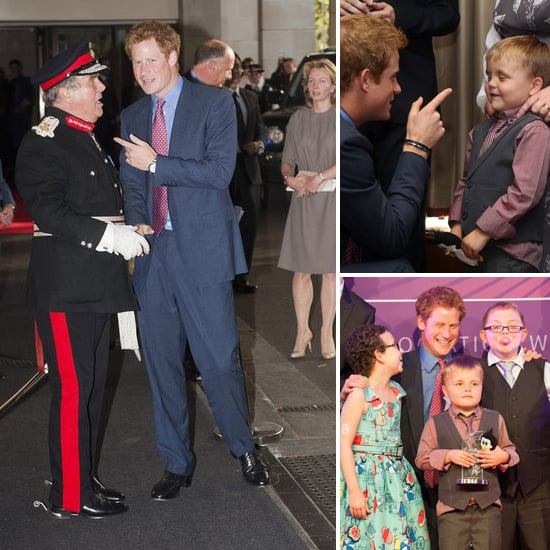 Prince Harry First Official Event After Naked Pictures Scandal