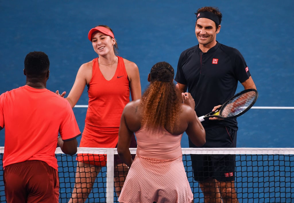Serena Williams and Roger Federer Gush Over Each Other After Their First-Ever Match