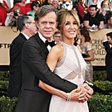 Felicity Huffman and William H. Macy, 2017