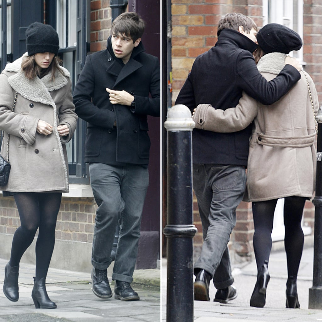 Keira and James Kiss as She Takes On a Fashionable New Role
