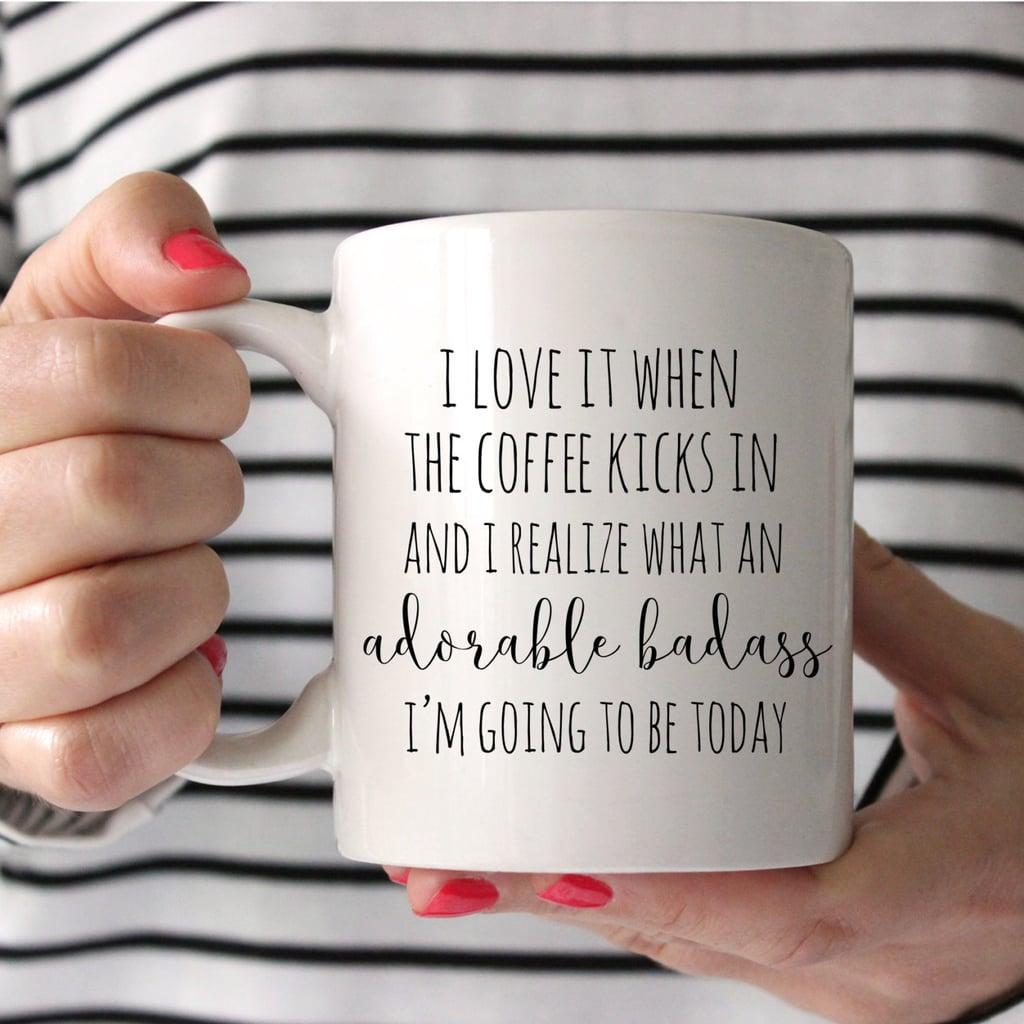 """""""Adorable Badass"""" Mug"""