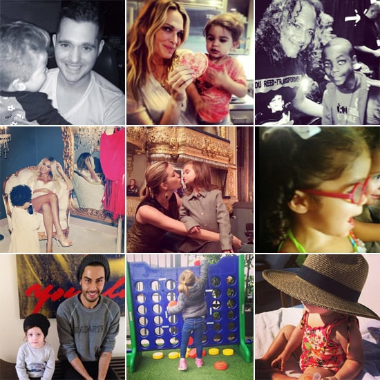 Celebrity Moms' Instagram Pictures Week of Feb. 2 to 7, 2014