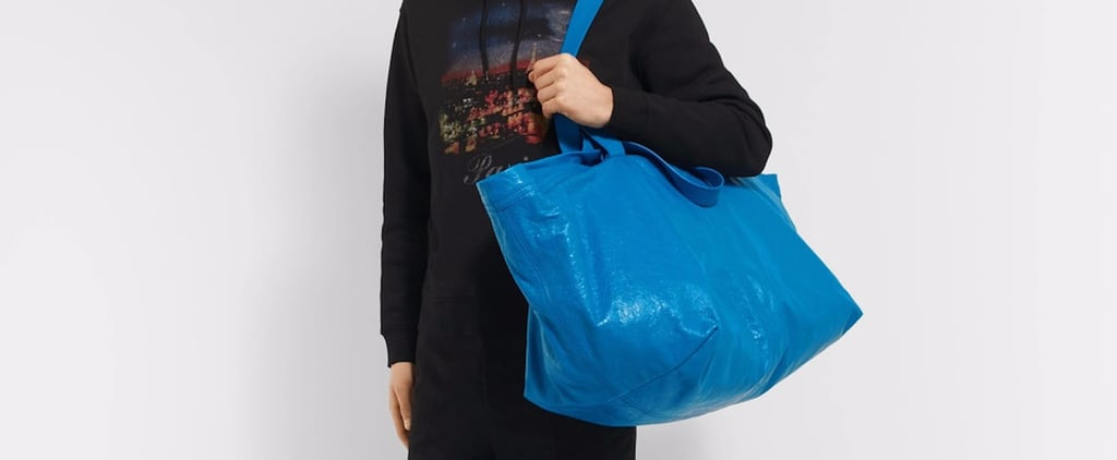 "This Designer Took a $1 Ikea Bag and Made It ""Fashion"""