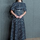 Rowan Blanchard Looked Stylish in Her Midi Dress