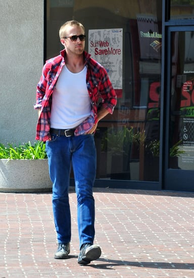 Ryan Gosling out and about