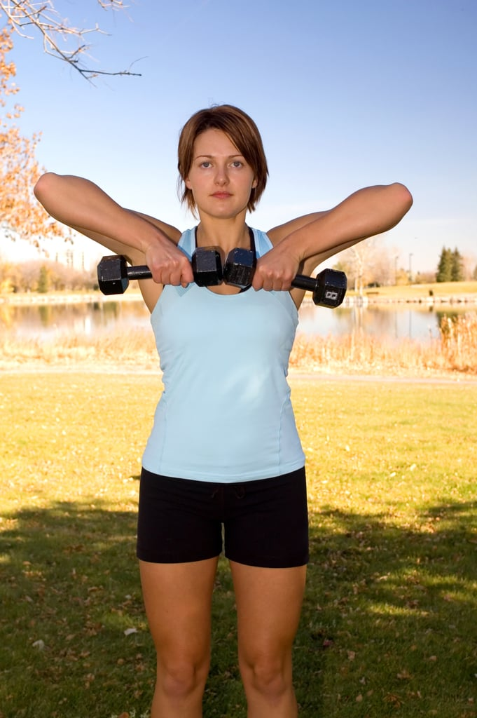 Upright Shoulder Row