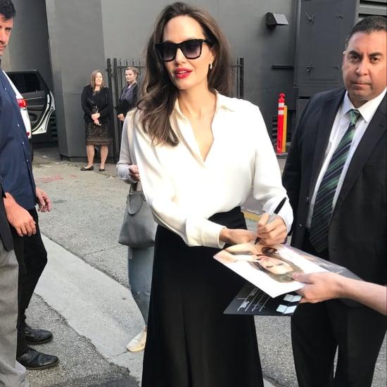 Angelina Jolie Nude Ryan Roche Heels