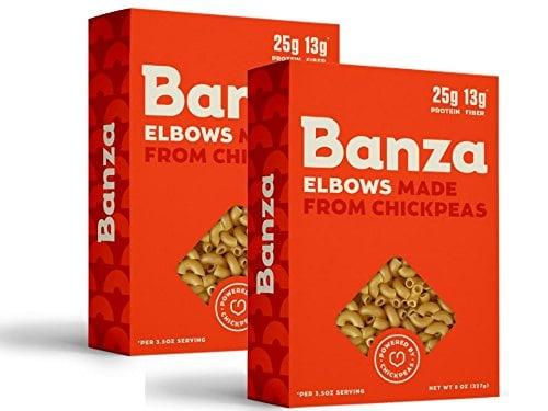 Banza Chickpea Elbow Pasta