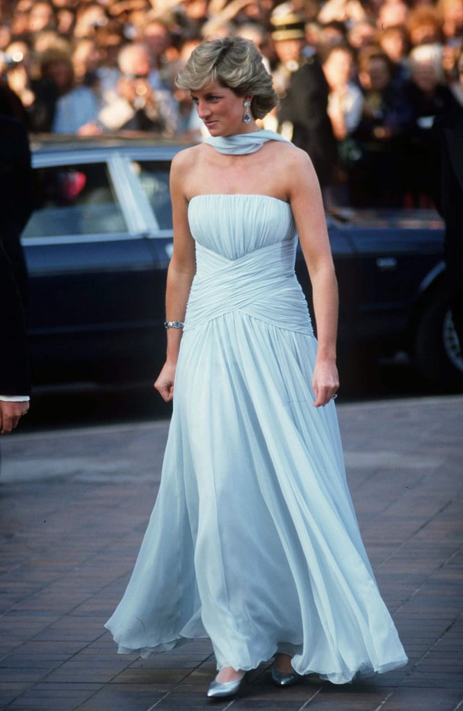 Princess Diana Cannes Film Festival Dresses