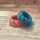 Identical Twin Knit Bracelets