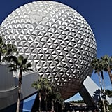 Epcot's Spaceship Earth installment weighs 16 million pounds.