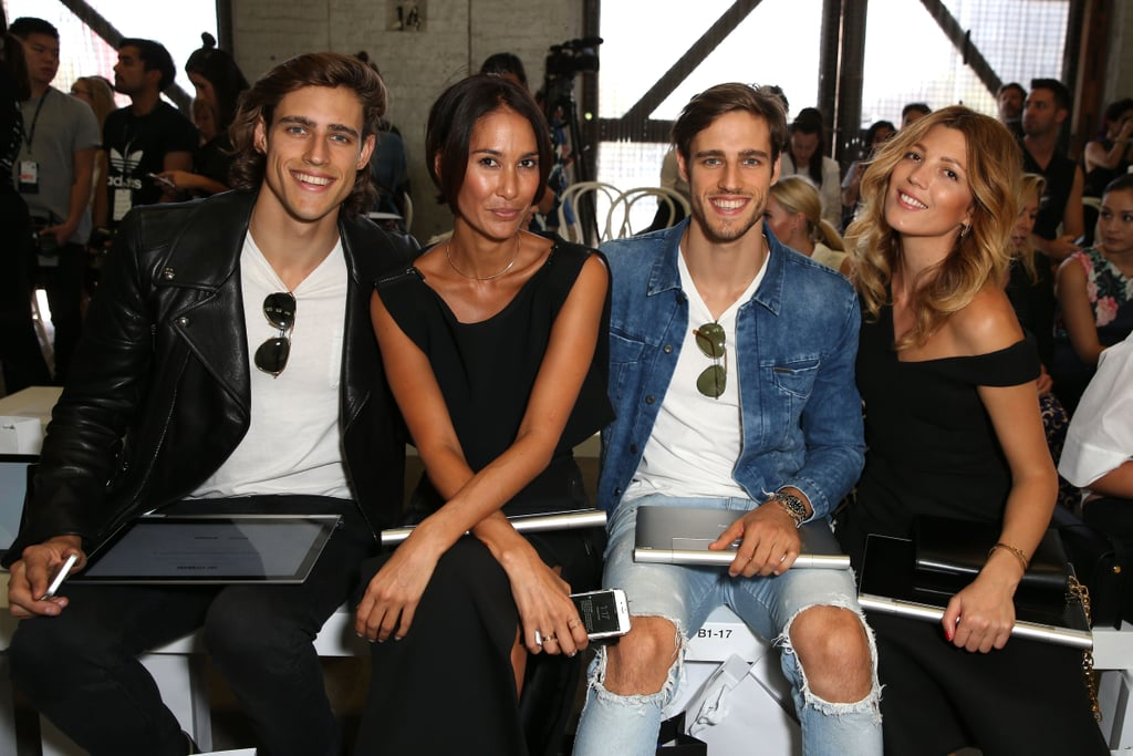 Zac Stenmark, Lindy Klim, Jordan Stenmark and Tanja Gacic — Day 3