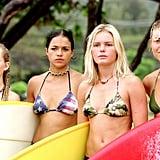 Mika Boorem, Michelle Rodriguez, Kate Bosworth, and Sanoe Lake, Blue Crush