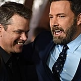 Ben Affleck and Matt Damon at Live by Night Premiere