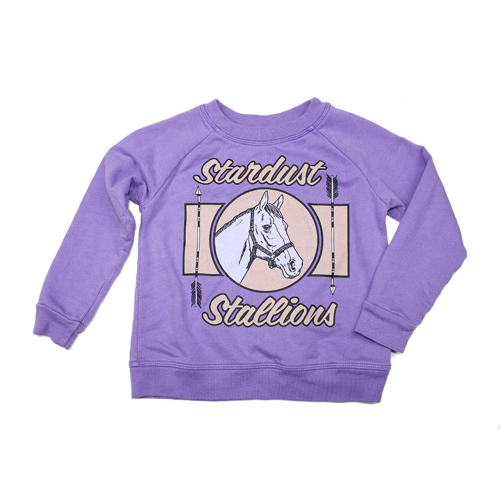 Ice Cream Castles Stardust Stallions Sweatshirt