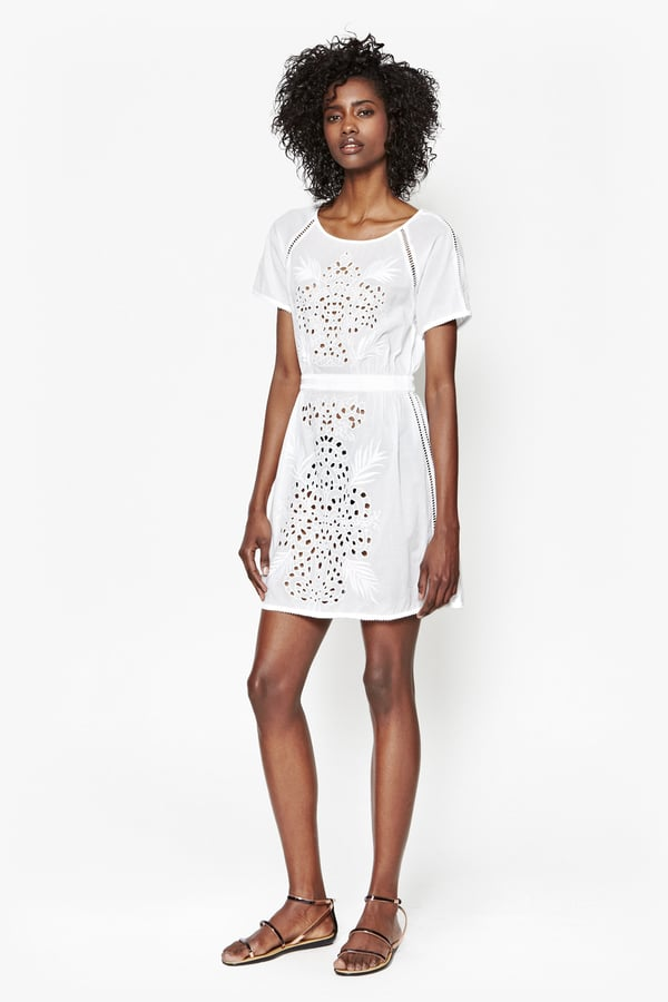 d2681ec47329 French Connection Embroidered Beach Mini Dress (£120) | Boho White ...
