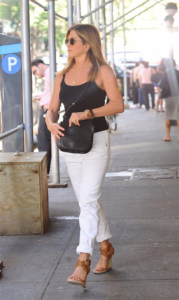 Jennifer Aniston Summer Shoes