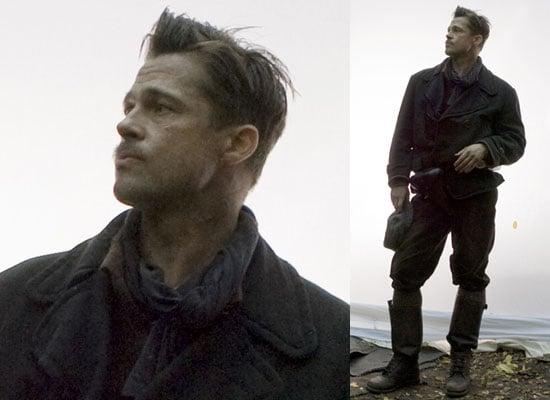 First Photos Of Brad Pitt on the Set of Tarantino's Inglorious Bastards a.k.a. Inglourious Basterds