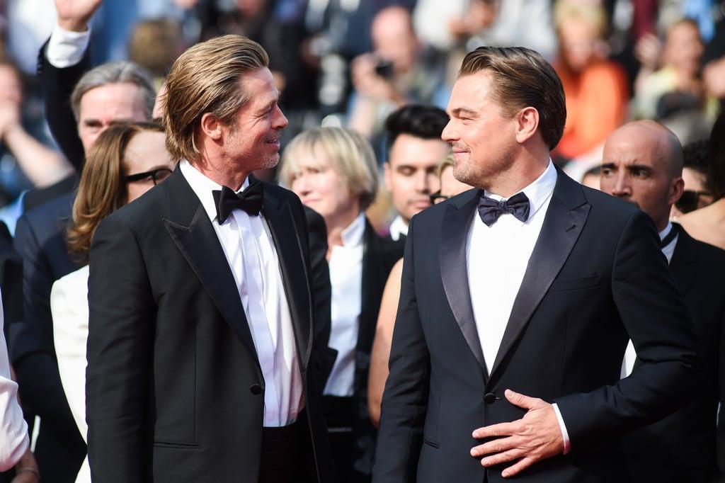 Brad Pitt and Leonardo DiCaprio Friendship Pictures